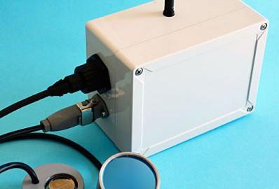 Datenübertragungs- system mit Empfänger-Box und Sendeeinheiten