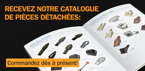 Recevez notre catalogue de pièces détachées
