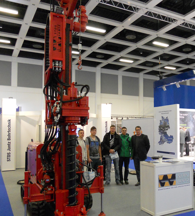 Premodrill auf Messe Wasser Berlin International 2015